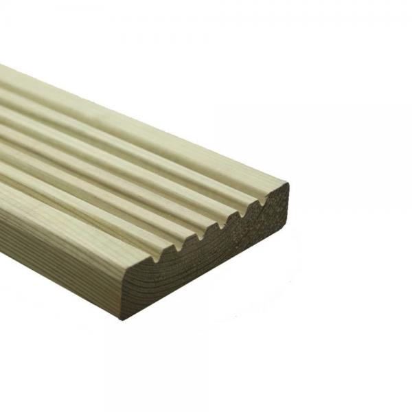 wooden decking board green